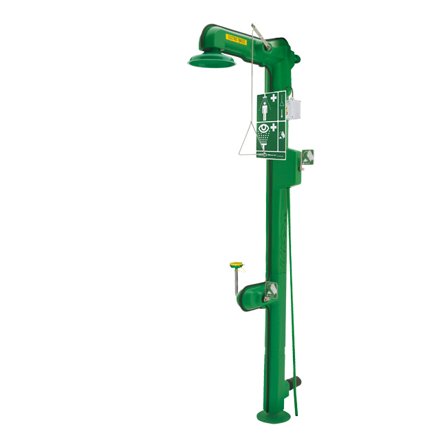 8317CTFP Axion / HAWS freeze resistant combination eye / face / body emergency safety or drench shower. PNR UK Ltd.