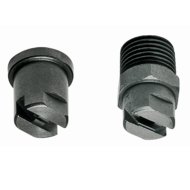 PNR, FBB, FX 1/4 meg high pressure fan nozzles. 1/4, 1/8 and high pressure tips. Hard wearing stainless steel.
