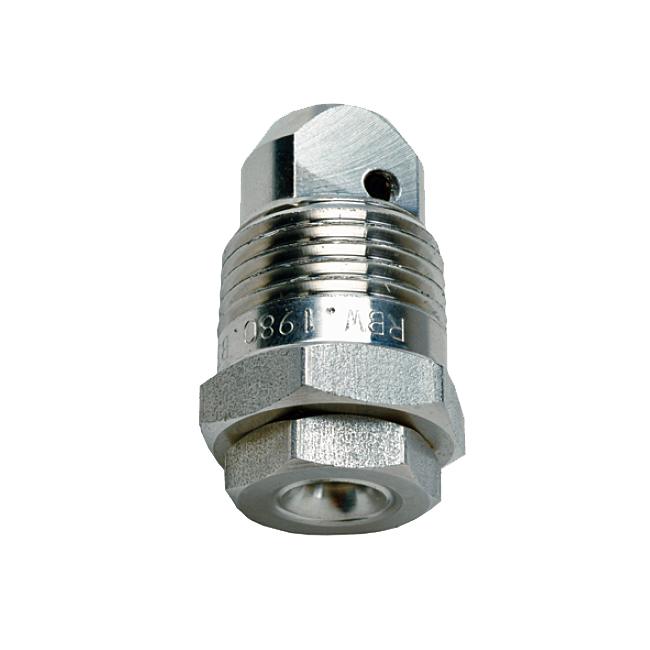 PNR in-line hollow cone spray nozzles. RBQ / RBS / RBT anti-clocking / anti-clogging.