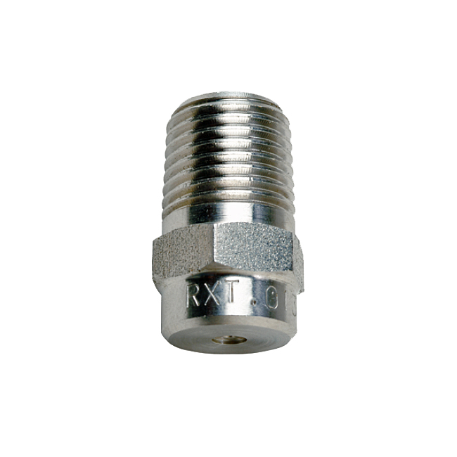 PNR RXT_RZQ hydraulic atomiser spray nozzles. Hollow cone spray pattern.