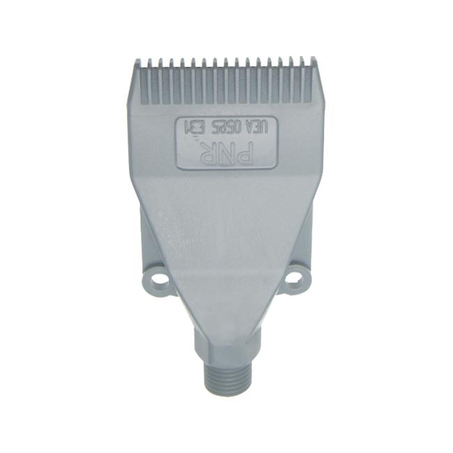 UEA_0525-E1 PNR air knife nozzle in Polyacetalic resin.