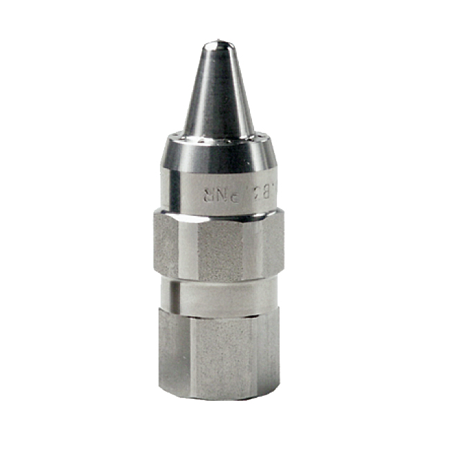 UEA PNR air nozzle. Blow-off nozzles for use with compressed air. Powerful concentrated air jet.