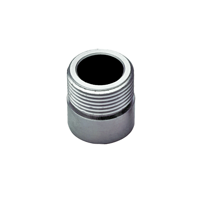 PNR ZAA / ZAB weld-on nipple for spray nozzle tips. Fits VAA retaining cap and GX tip nozzles.
