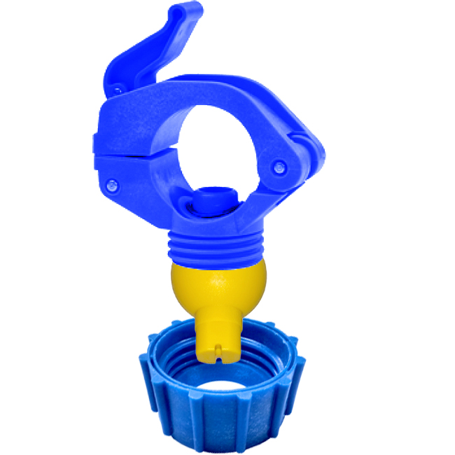 ZPQ clamp or eyelet. PNR quick release pipe clamp for swivel nozzles in pre-treatment plants and dust suppression systems