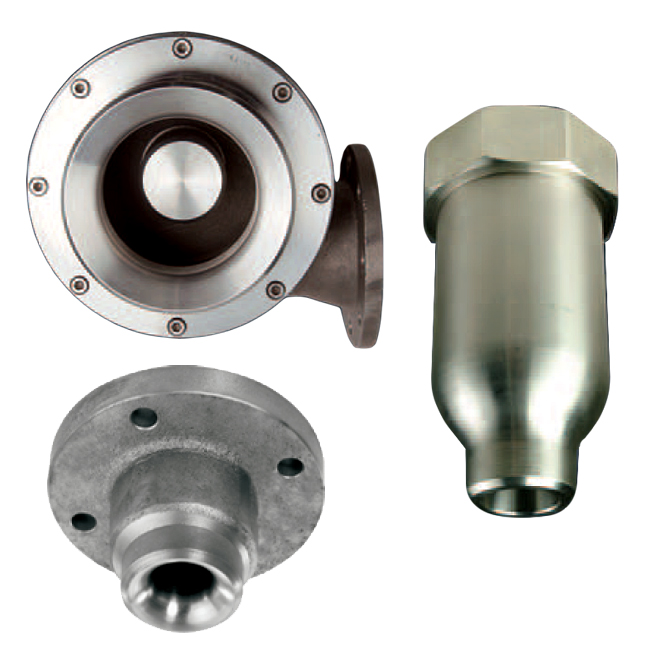 PNR coke suppression and cooling nozzles for the steel works industry. Full cone & hollow cone nozzles.