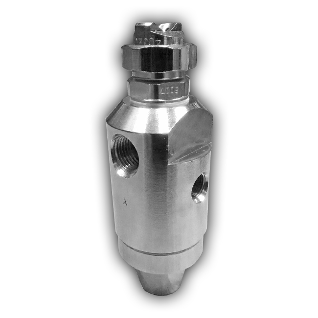 MX range automatic air assisted atomiser nozzle from PNR