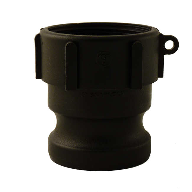 Quick coupler adaptor/adapter with female thread connection . Polypropylene fittings from PNR UK Ltd