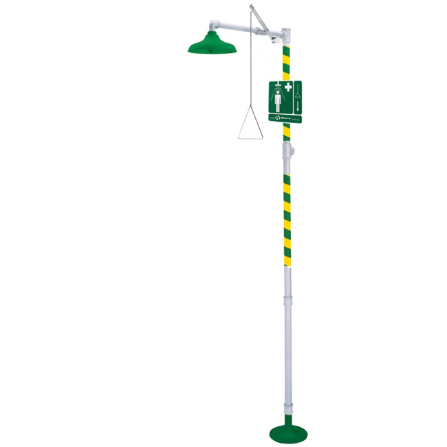8100 Axion / HAWS basic model, free-standing, emergency safety / drench shower. PNR UK Ltd