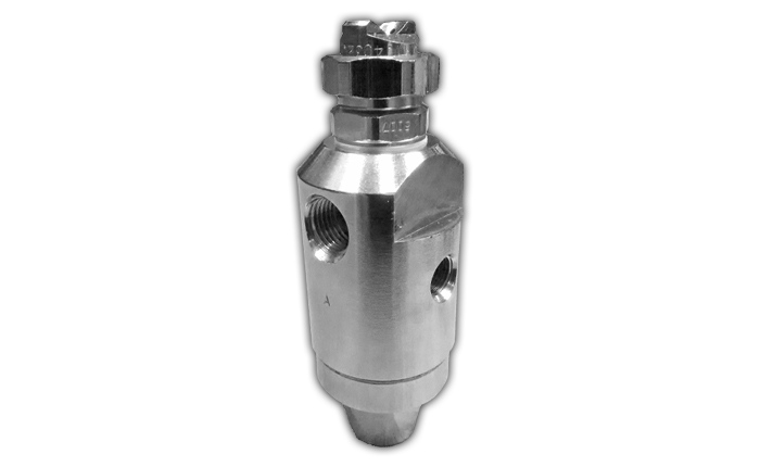 PNR air-assisted automatic atomiser spray nozzle