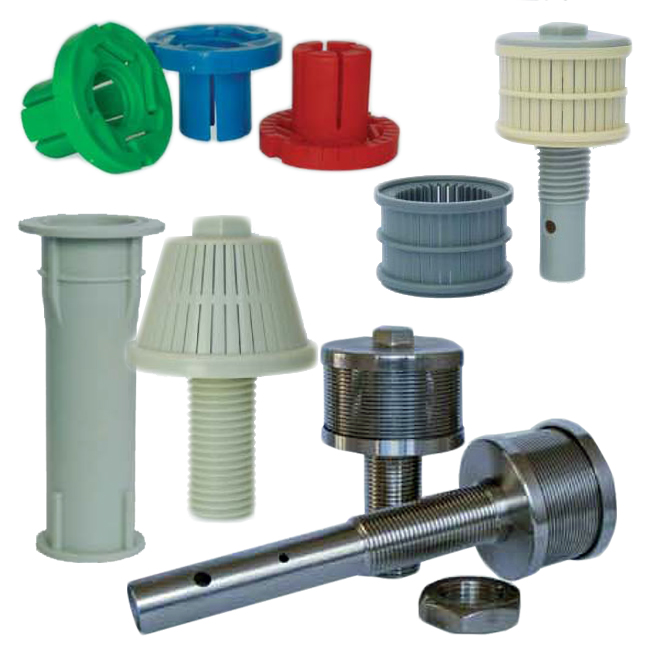 Water filter nozzles, concrete sleeves & anchors. PNR UK Ltd