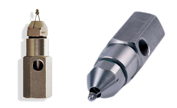 PNR UK Ltd, ultrasonic fine mist atomiser nozzles. For misting, fogging and dust suppression.