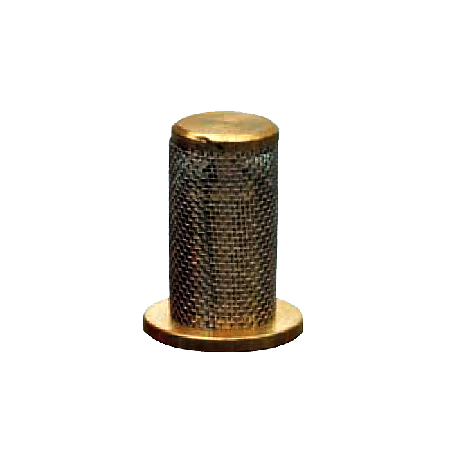 VEF nozzle filter with male threaded from PNR. 5- mesh, 75 mesh, 100 mesh and 120 mesh.