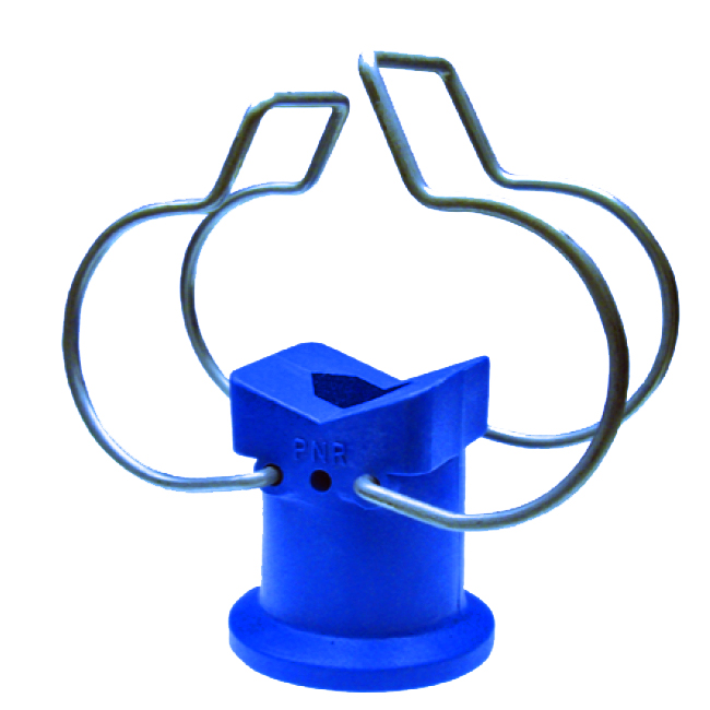 ZPG PNR pipe holder clips for pre-treatment plants, spray bars, other pipes and more.