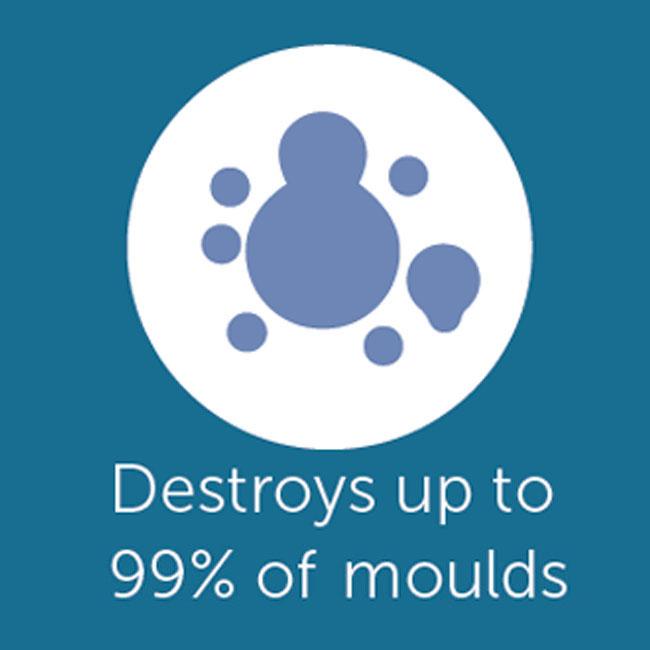 Mobile, travel, car BKM air purifiers & santising devices destroy 99 percent moulds