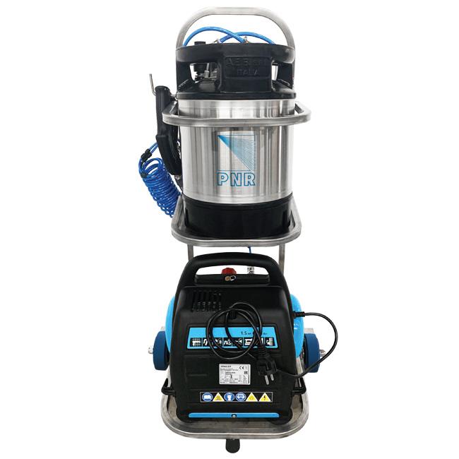 PNR Italia - Sani-Move disinfectant portable spray unit - a possible COVID-19 prevention or solution